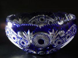 Nagy kristálytál (kék)