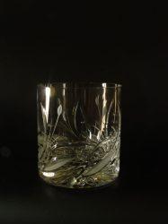 """Whiskys kristálypohár """"nád mintás"""""""