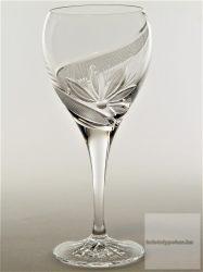 ólomkristály boros kristálypohár 270 újminta