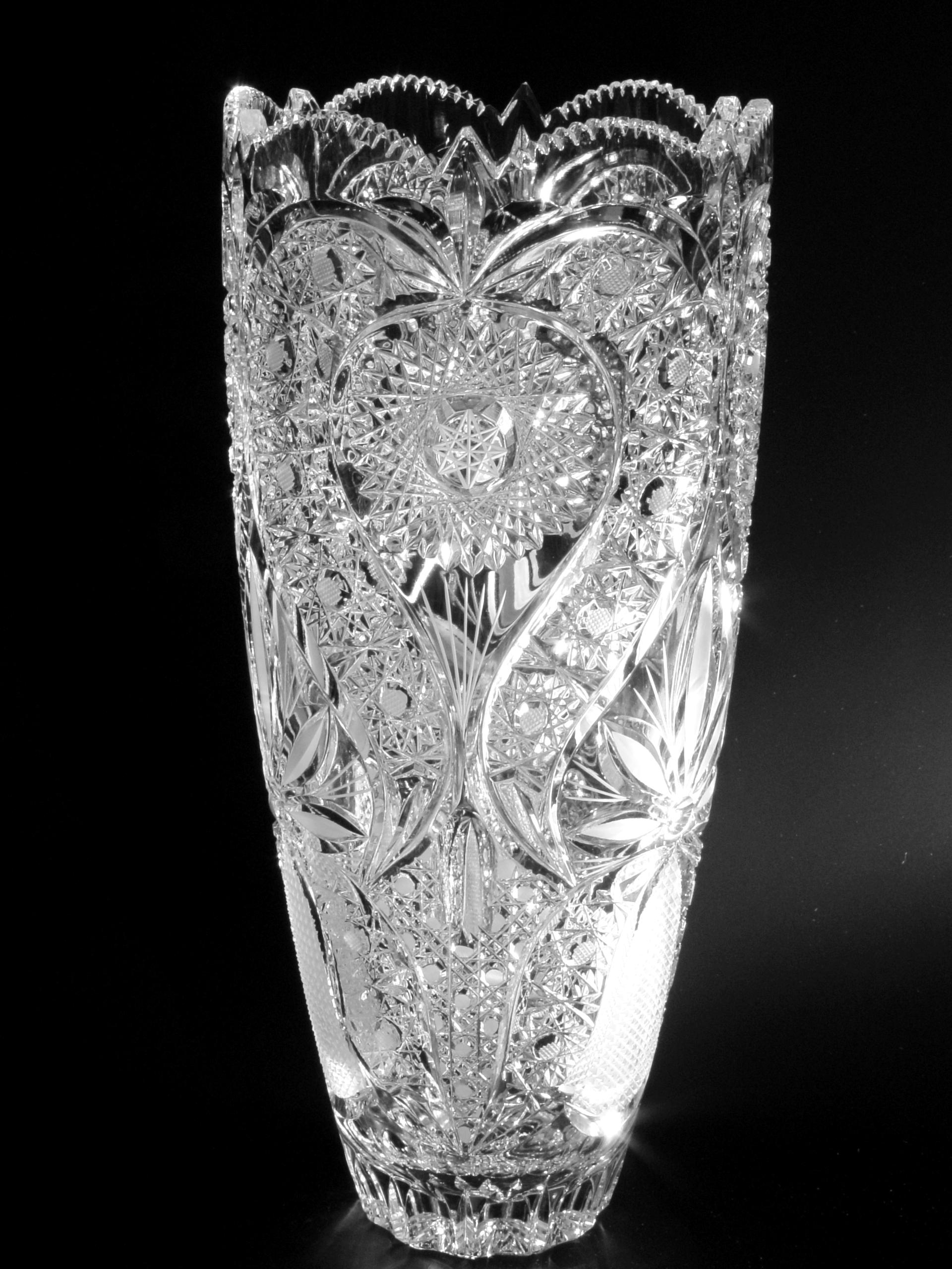 ólomkristály kristályváza